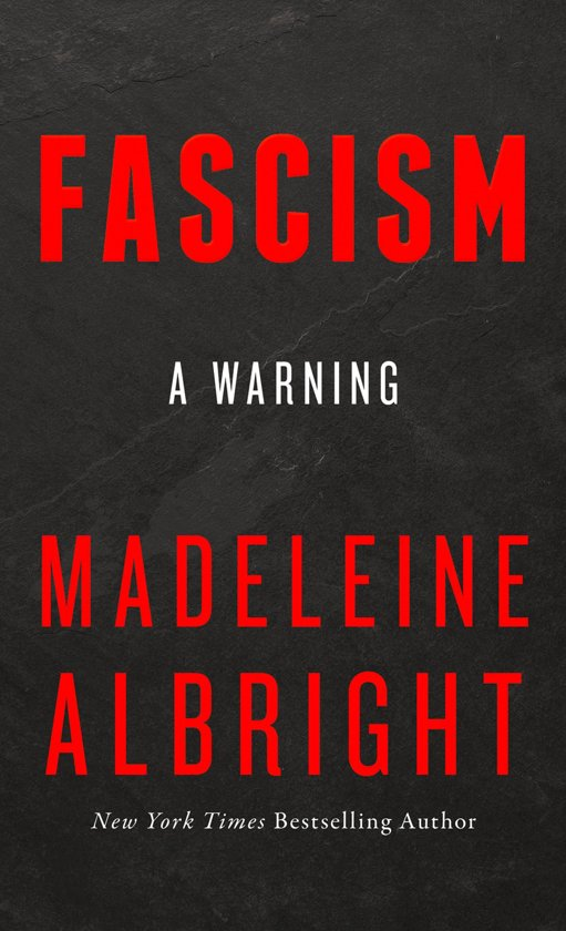 Fascism: A Warning Boek omslag