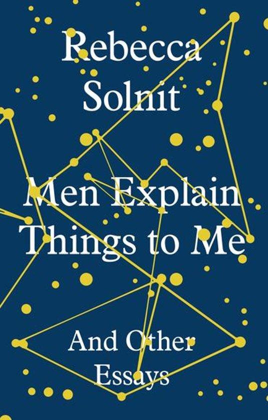 Men Explain Things to Me Boek omslag